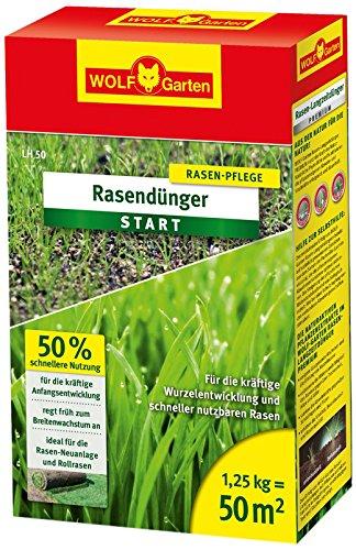 WOLF-Garten Rasen-Starter-Dünger LH 50; 3833020