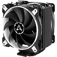 ARCTIC Freezer 33 eSports Edition - Tower CPU-Kühler mit Push-Pull-Konfiguration I 120 mm PWM Prozessorlüfter für Intel und AMD | PWM-Sharing-Technologie (PST) 200 bis 1800 U/min (WEISS)