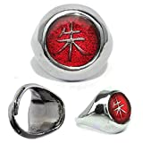 #8: Comicsense.Xyz Naruto Itachi Cosplay Replica Ring (Adjustable Size)