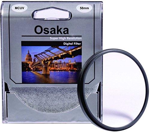 Osaka MCUV Filter 58mm for Canon EOS EF-S18-55mm f/3.5-5.6 IS STM, EF-S18-55mm f/3.5-5.6 IS II, EF-S55-250mm f/4-5.6 IS II, EF24mm f/2.8 IS USM, EF28mm f/1.8 USM, EF24mm f/2.8, TS-E90mm f/2.8, EF-S55-250mm f/4-5.6 IS STM, EF75-300mm f/4-5.6 III USM, EF70-300mm f/4.5-5.6 DO IS USM, EF70-300mm f/4-5.6 IS USM, EF85mm f/1.8 USM, EF50mm f/1.4 USM, EF100mm f/2 USM, MP-E65mm f/2.8 1-5x Macro Photo, EF100mm f/2.8 Macro USM