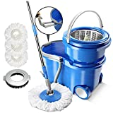 Best Spinning Mops - Masthome Stainless Steel 360° Magic Spin Mop Review