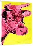 Bild Andy Warhol Art. 24 cm 50x70 intelaiato Pronto da appendere Stampa su Tela Canvas Vendita Falsi di Autore Il Negozio di Alex