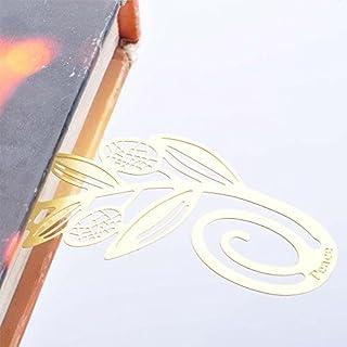 Kcopo Golden Kreativ Olivenzweig Lesezeichen Metall Clip Lesezeichen Marker Lese Lesezeichen Bevorzugungsgeschenk Für Kinder Mitbringsel Buch Lese