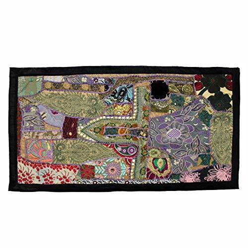 Longxja arazzo ricamato patchwork fatto a mano della boemia indiana d'attaccatura di parete