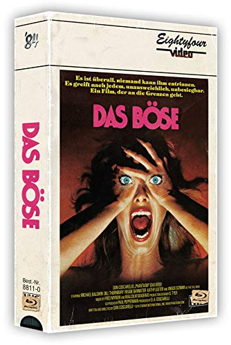 Phantasm - Das Böse - 3-Disc VHS-Box mit Poster - Uncut   (+ DVD) (+ Bonus-DVD) [Blu-ray]