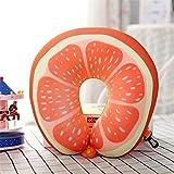 #9: Satyam Kraft (Pack of 1)Fruit Design Neck Travel Pillow for Car, Train, Flight, Bus/ travel pillow memory foam /travel pillow neck rest /travel pillow soft / travel pillow inflatable / travel pillow memory foam / travel neck cushion / Memory Foam Neck Travel Pillow for Car, Train, Flight, Bus (Orange)