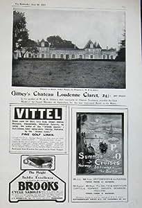 Golf 1907 de Croisières du Claret P&O de Loudenne du Château de Gibley