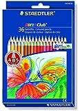Staedtler Noris Club 144 Etui carton de 36 crayons de Couleurs assorties
