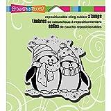 Unbekannt Stampendous Gummi Selbst Stempel 3,5x 4-Zoll, Bundle Pinguine