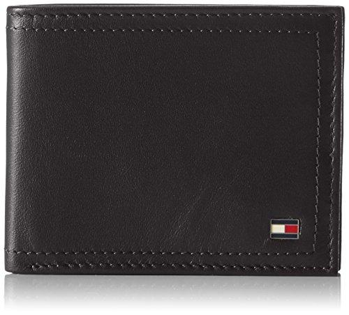 Tommy Hilfiger Herren Harry Mini Cc 002 Ausweis- & Kartenhüllen, Schwarz (Black), 11x9x2 cm