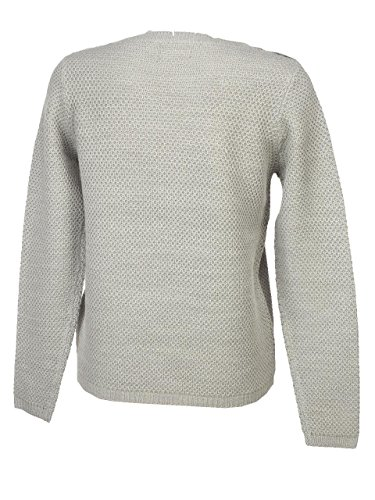 Only - Avaline lt greymel pull l - Pull fin Gris chiné
