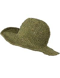 Large bord tricoté été crochet chanvre coton mélanger chapeau