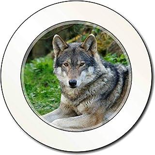 Ein herrliches Wolf AutovignetteGenehmigungsinhaber Geschenk
