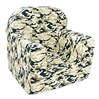 Little Tiger Armchair Sofa for Kids Toddlers Childs Sofa seat Mini Armchair for Children - Decoration | 0-3 years old, Baby Armchair (Moro)