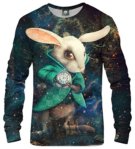 Aloha from Deer Unisex XS-2XL Printed Sweatshirt Wonderland (M) (Aloha Sweatshirt)