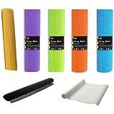 2x Anti multiusos de goma antideslizante alfombra de maletero Gripper (cajón Alfombrilla de salpicadero de coche