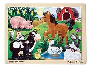 On the Farm Jigsaw (12 PC)