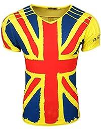 HERREN T-Shirts TShirt NEU Größe S M L M XL XXL RUNDHALS Totenkopf Skull RN15044