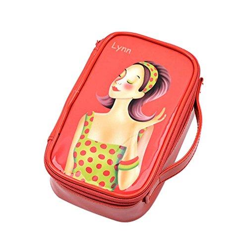 Matériau Mode Cosmetic mignon Containers PVC Sacs cosmétiques