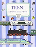 Scarica Libro Treni dal vapore all alta velocita Con adesivi Ediz illustrata (PDF,EPUB,MOBI) Online Italiano Gratis