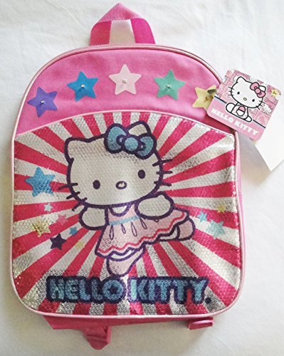 Hello Kitty Pink Mini Backpack - Lights Up