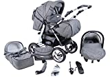 "Clamaro ""VIP 3in1"" Premium Kinderwagen 3 in 1 Kombi"