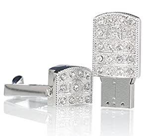 escoo 64gb edelstahl swiel schmuck usb stick speicher computer zubeh r. Black Bedroom Furniture Sets. Home Design Ideas