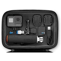 GoPro Hero5Session Action Kamera Bundle (15Artikel): Hero5Kamera, Rahmen, 7Flat & Curved Adhesive Mounts, Befestigungsmaterial Schnalle, usb-c Kabel, geteiltes, Handgriff, 16GB SD & ADAPTER, Fall