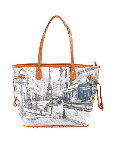 Borsa Shopping grande Y Not - G319 Metro Parisienne