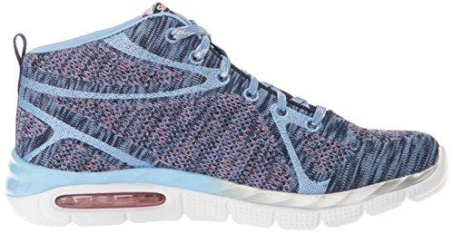 Skechers Mädchen Air-Appeal-Breezin' By Hohe Sneakers Blau (nvpw)