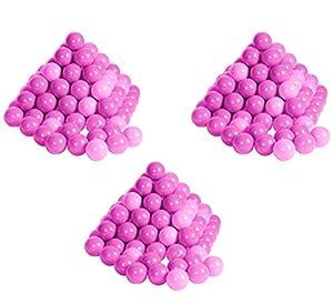 Knorrtoys 56792-300Pelotas en Moderno Color Rosa y Rosa sin plastificantes peligrosas Ø6cm-con certificación TÜV de
