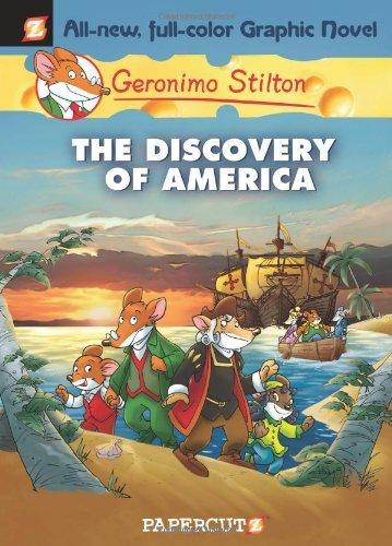 Geronimo Stilton #1: The Discovery of America (Geronimo Stilton Graphic Novels) by Luca Crippa (2-Dec-2009) Hardcover