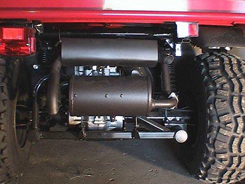 Flüsterauspuff Auspuff leise Kawasaki Mule 600 610 Geräuschreduzierung -