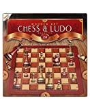 #8: WOODEN ART CHESS & LUDO MAGNETIC