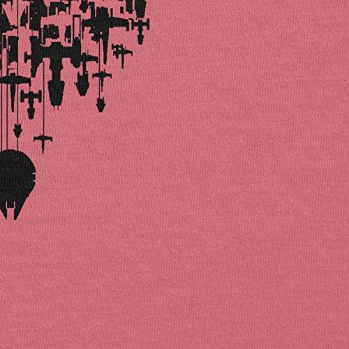 NERDO - Rebel Army - Damen T-Shirt Pink