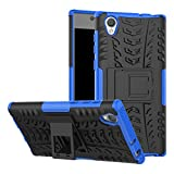 Sony Xperia L1 Handy Tasche, FoneExpert® Hülle Abdeckung Cover schutzhülle Tough Strong Rugged Shock Proof Heavy Duty Case Für Sony Xperia L1