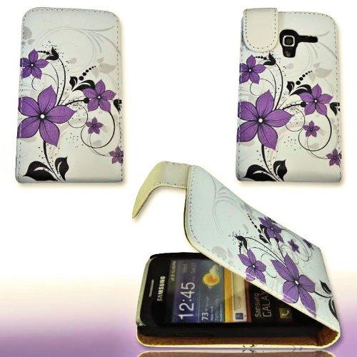 Handy Tasche Flip Style  - Design No.1 - Cover Hülle Case für Samsung S7500 Galaxy Ace Plus
