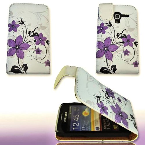 PeKa Internethandel Custodia Flip Style-Design No. 1-Custodia Cover Case per Samsung S7500Galaxy Ace Plus