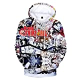 CTOOO 2018 Unisex Fairy Tail Trend 3D Digital Druck Hoodies Sweatshirts Cool Kapuzen-Pullover Paar Jacke Tops Winter