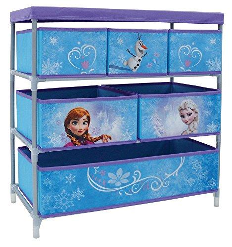 Fun house 712508disney frozen per scaffali con 6vani per cameretta dei bambini