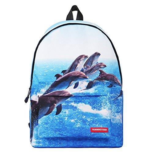 Artone Mh Serie Unisex-Adulto Universo Nylon Casuale Daypack Blu delfino