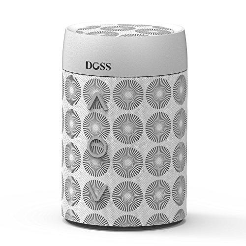 DOSS SoundBox mini Portabler Kabelloser Bluetooth 4.0 Lautsprecher mit Dreh-Lautstärkeregler & Eingebautem Mikrofon Wireless Speakers mit hervorragendem Bass für iOS und Android Geräte