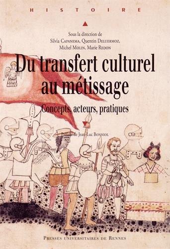 Du transfert culturel au mtissage : Concepts, acteurs, pratiques
