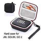 L3 Tech Étui pour JBL Go/JBL GO 2, étui de Transport Rigide pour JBL GO/JBL GO 2 Haut-Parleur Bluetooth sans Fil Portable...