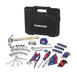 WorkPro w009042a 165-piece uso General Juego de herramientas para