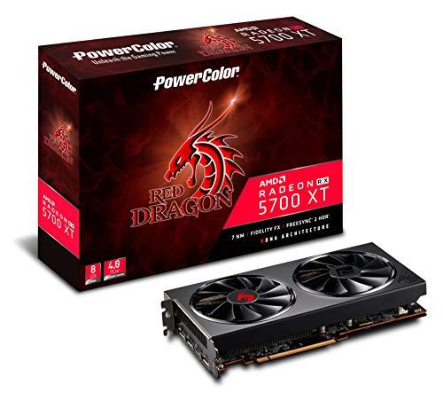 PowerColor AMD Radeon RX 5700 XT Red Dragon 8GB GDDR6 HDMI/3xDP Grafikkarte