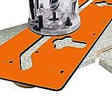 CMT CMT650 Sistema di Giunzione per Piani da Cucina, Per giunzioni di 90° e 45°, Arancione