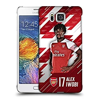 Head Case Designs Offizielle Arsenal FC Alex Iwobi 2018/19 Erstes Team Gruppe 1 Ruckseite Hülle für Samsung Galaxy Alpha