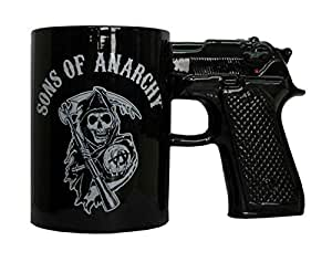 Sons Of Anarchy Pistol Gun Tasse
