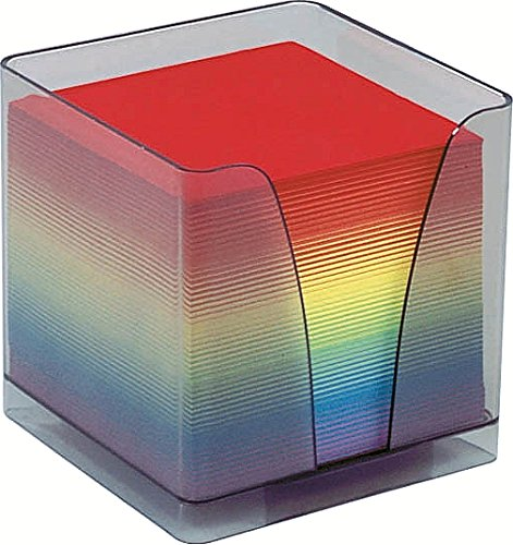Quo Vadis Arco Iris - Taco de notas, con soporte Plexiglás